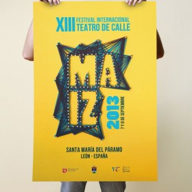 Cartel Maíz 2013<span>Street Theatre Festival</span>